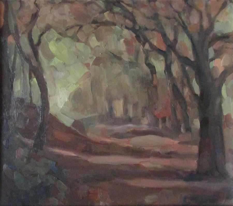 """Forest of Huelgoat <br /><span style=""""font-weight: bold; color: #ad974f;"""">SOLD</span>"""