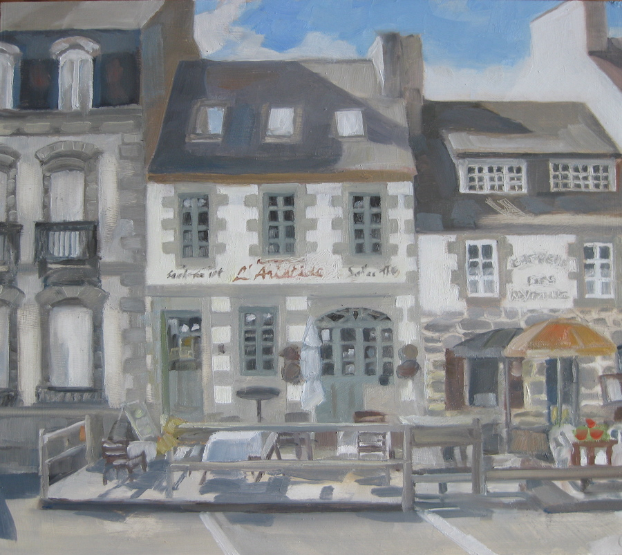 """Place L'Aristide, Huelgoat <br /><span style=""""font-weight: bold; color: #ad974f;"""">SOLD</span>"""